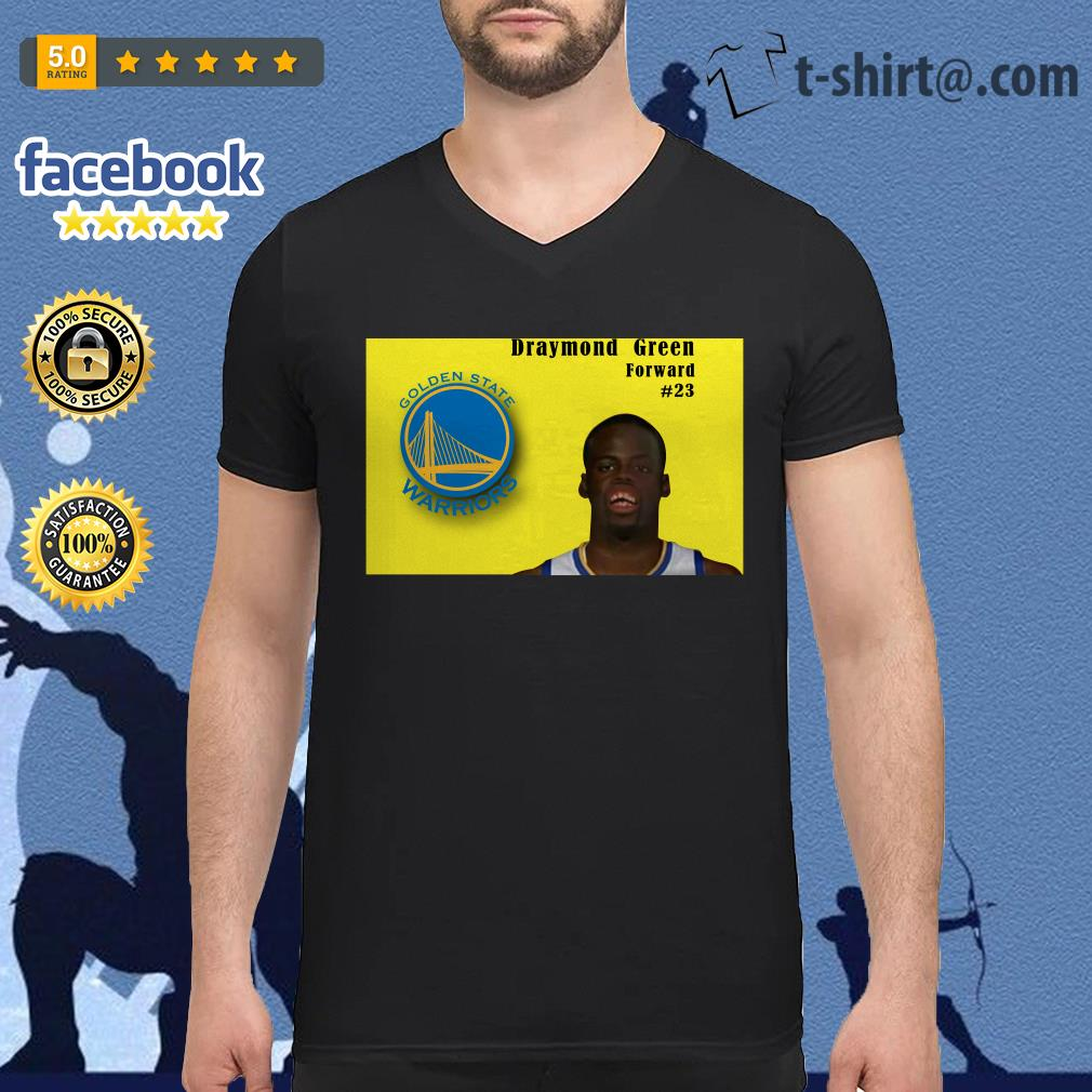 Draymond Green Forward #23 Golden State Warriors V-neck T-shirt
