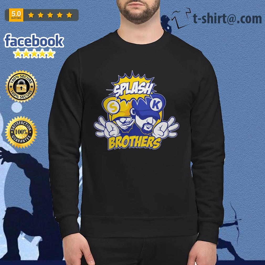 Golden State Warriors Splash Brothers Sweater