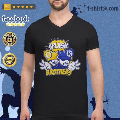 Golden State Warriors Splash Brothers V-neck t-shirt