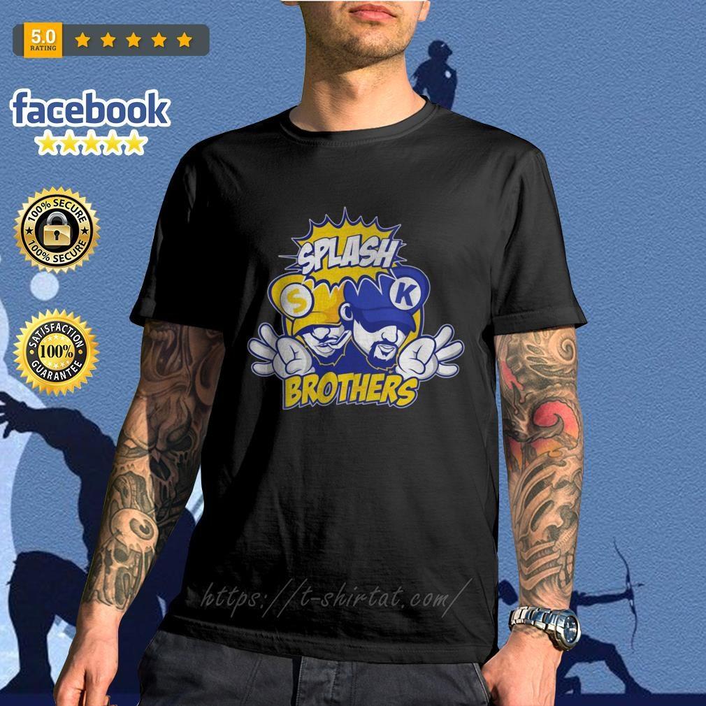 Golden State Warriors Splash Brothers shirt