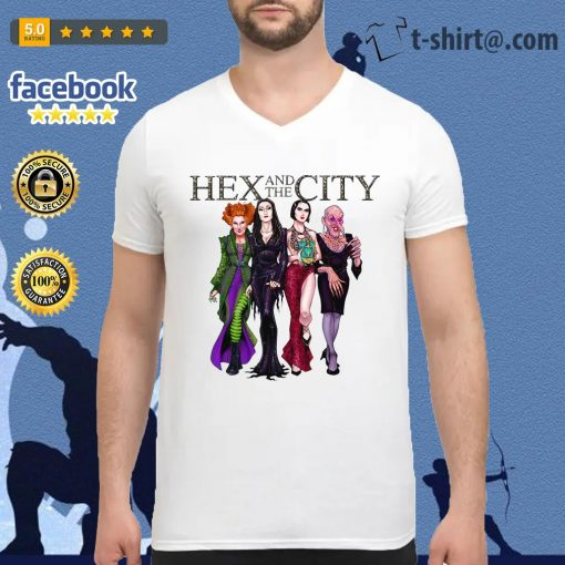 Hex and the City V-neck T-shirt