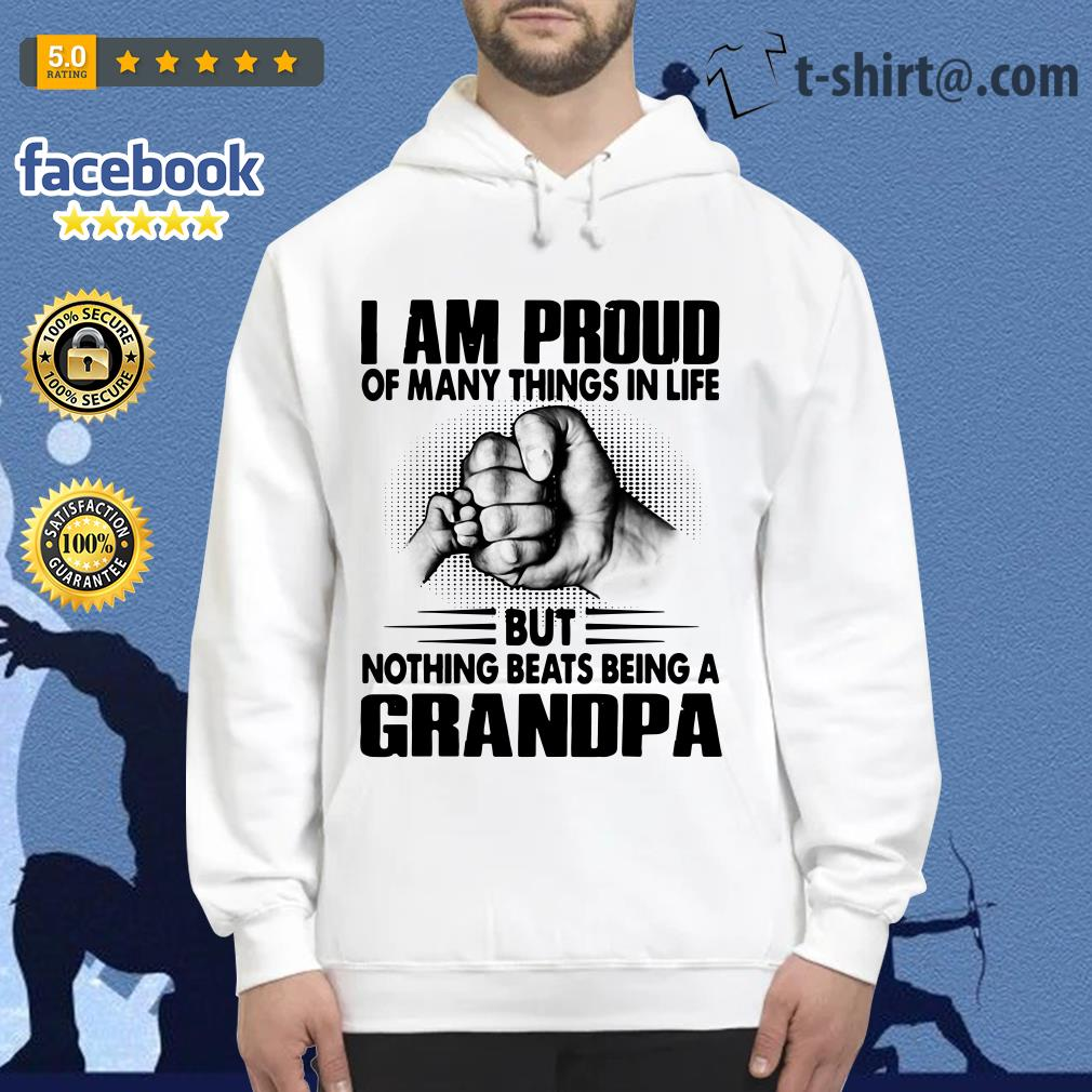 I am proud of many things in life but nothing beats being a grandpa Hoodie