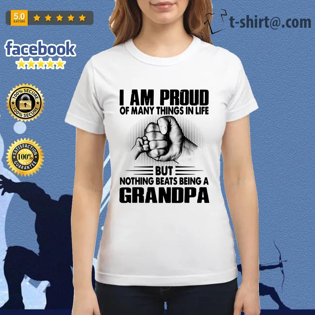 I am proud of many things in life but nothing beats being a grandpa Ladies Tee