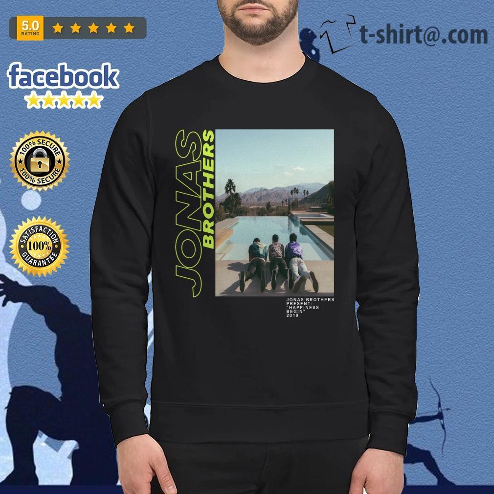 0aad05e5a Jonas Brothers–Jonas Brothers present happiness being 2019 shirt