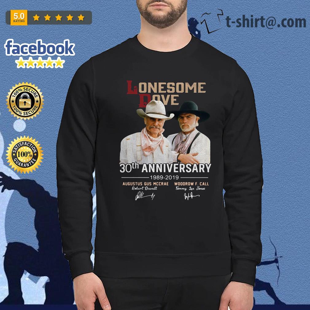 Lonesome Dove 30th Anniversary Signature 1989-2019 signature Sweater