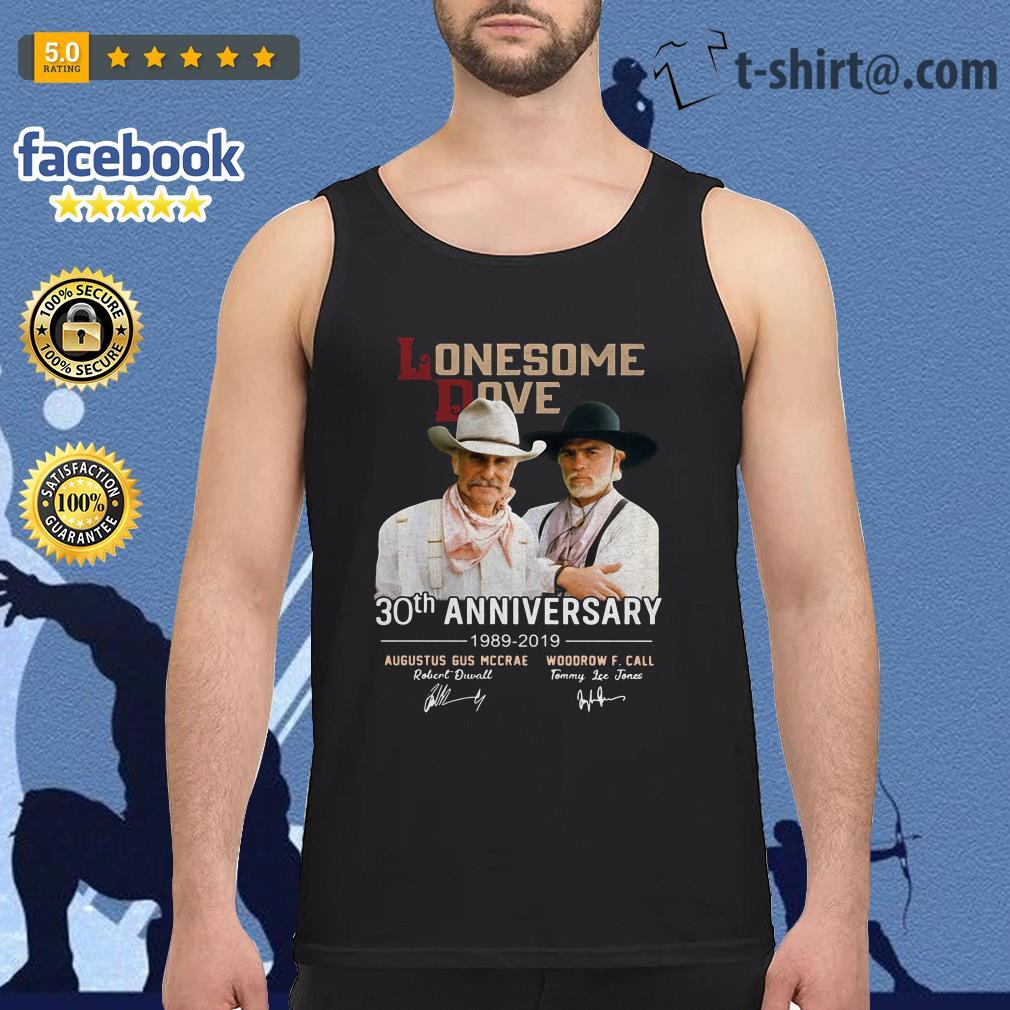 Lonesome Dove 30th Anniversary Signature 1989-2019 signature Tank top