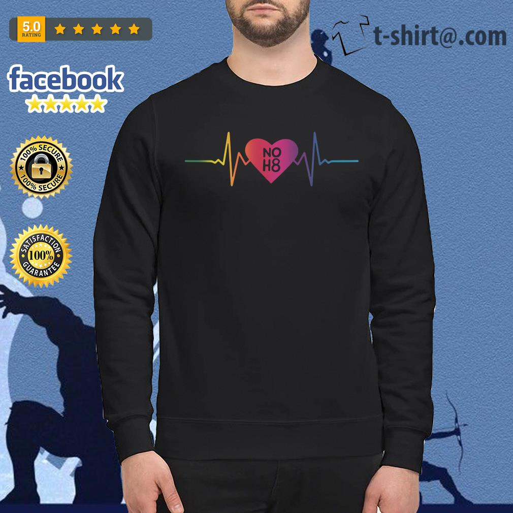 NO H8 support LGBT community Sweater