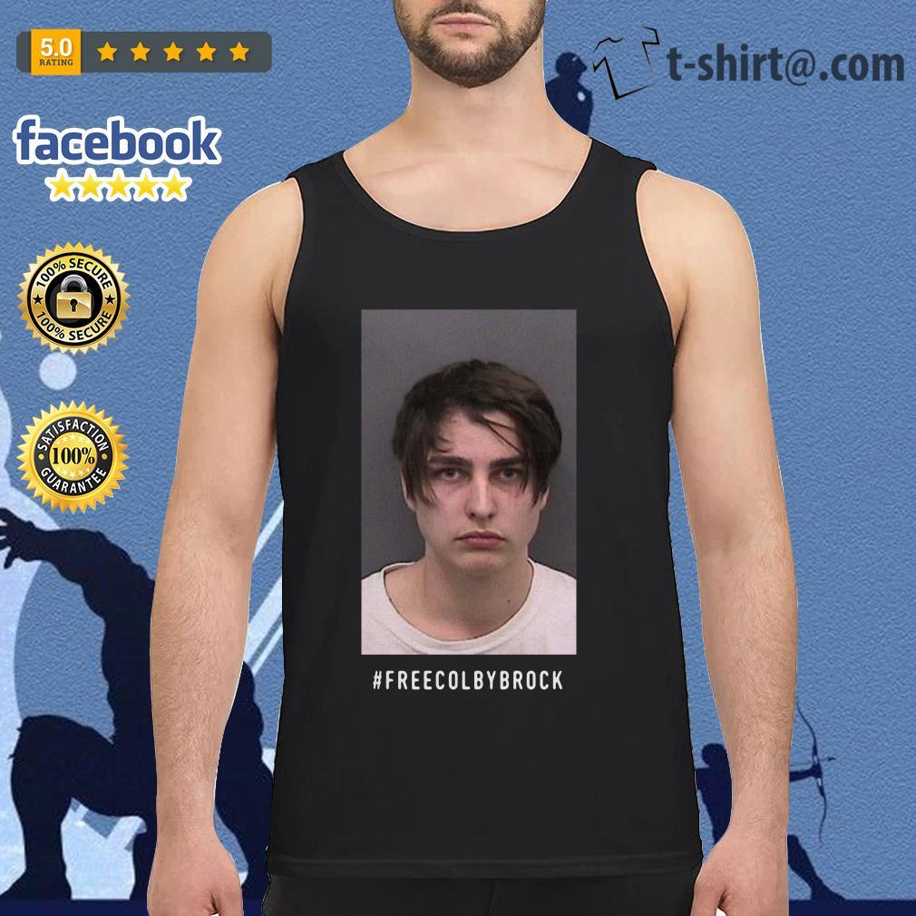 Official #Freecolbybrock Tank Top