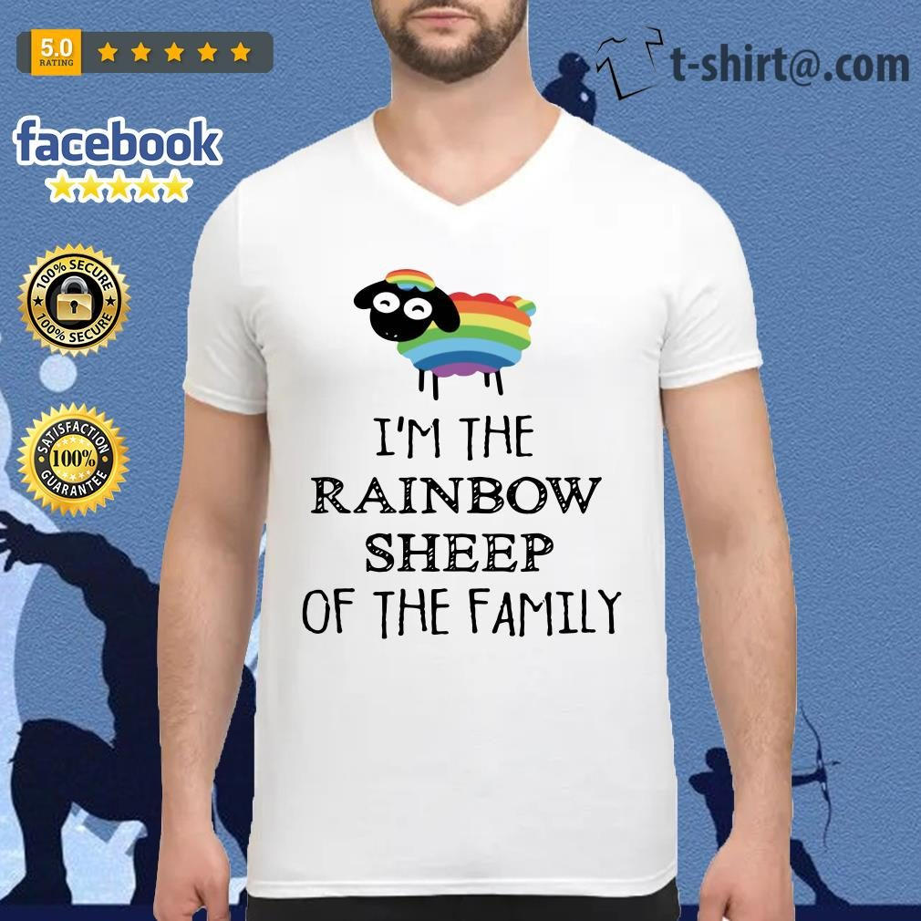 cdf17c09 Official LGBT I'm the rainbow sheep of the family shirt, sweater