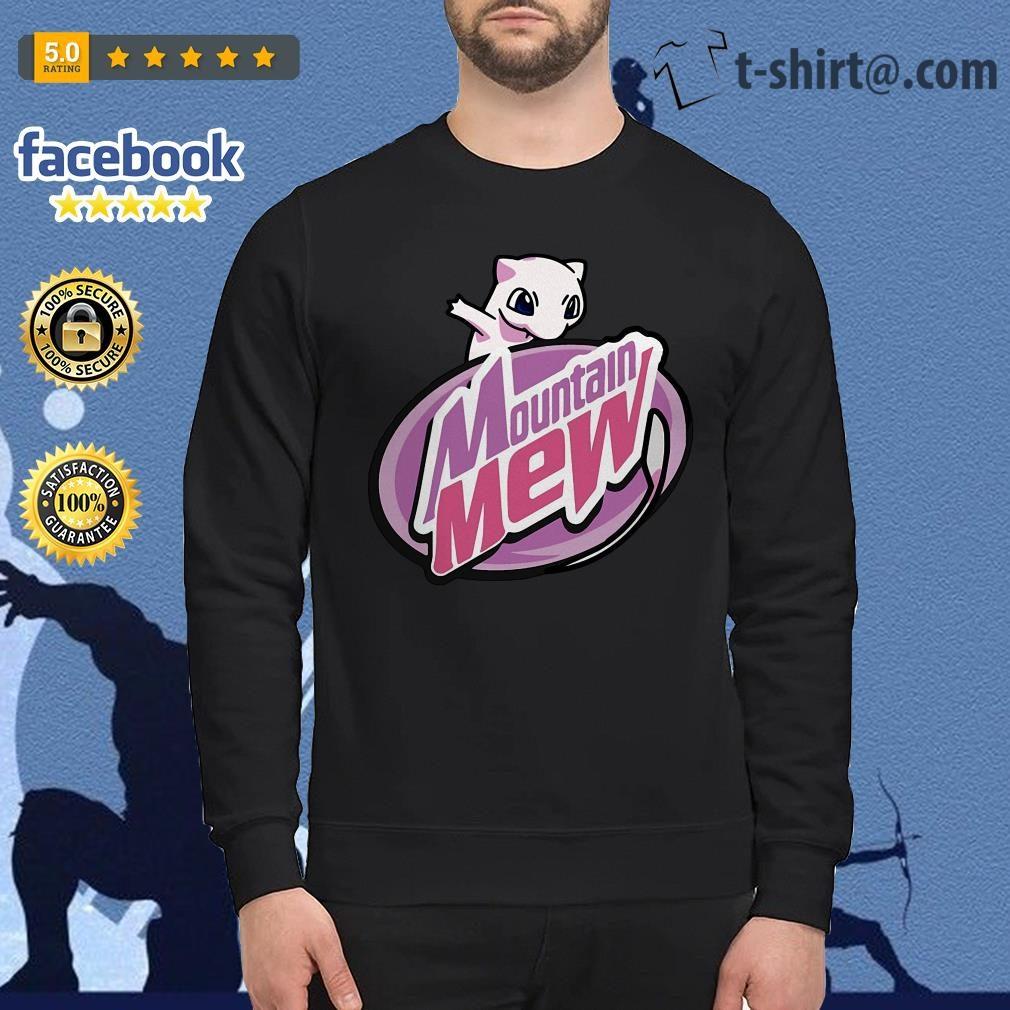 Pokememes Mountain Mew Sweater
