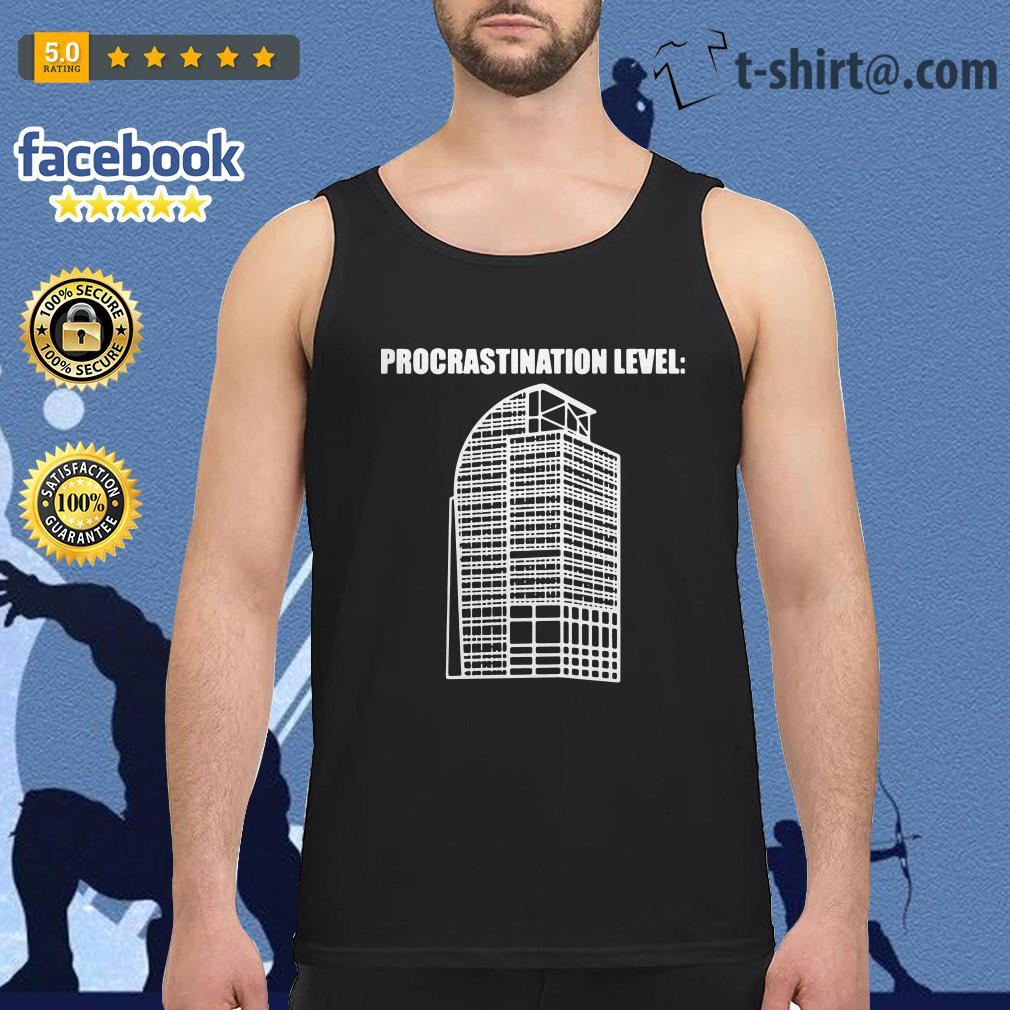 Procrastination Level Tank top