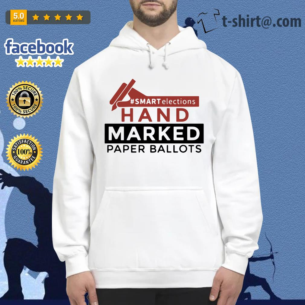Smart elections hand marked paper ballots Hoodie