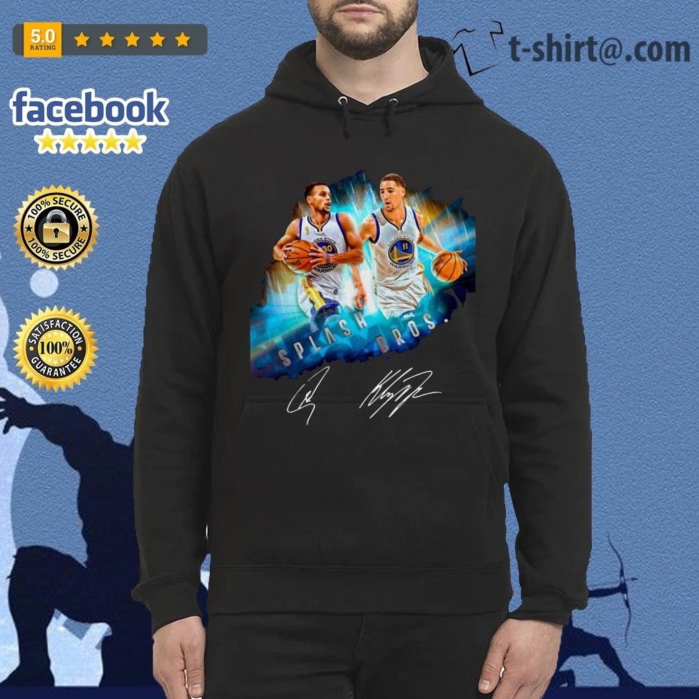 Splash Brothers–Super Splash Bros Klay Thompson Stephen Curry Hoodie