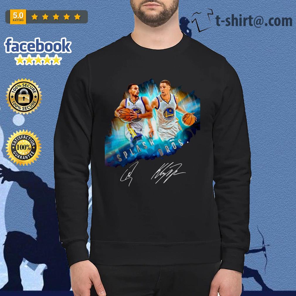 Splash Brothers–Super Splash Bros Klay Thompson Stephen Curry Sweater