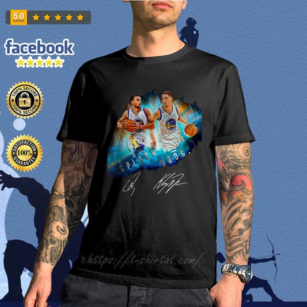 Splash Brothers–Super Splash Bros Klay Thompson Stephen Curry shirt