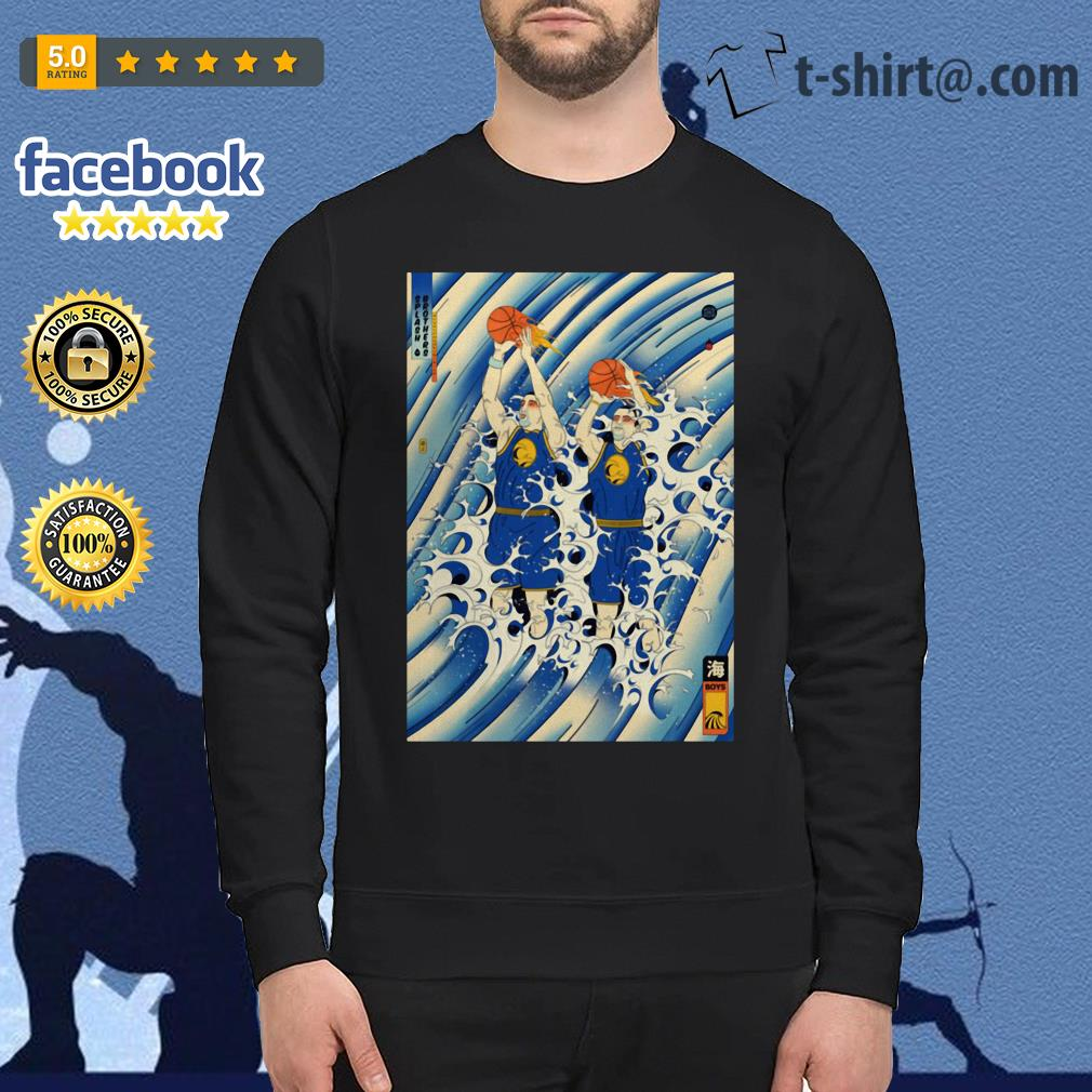 Steph Curry and Klay Thompson Splash Brothers Sweater