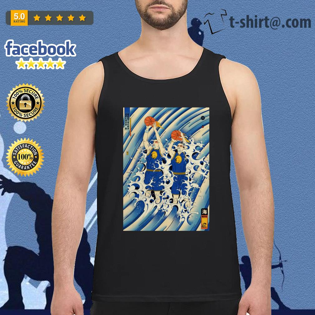 Steph Curry and Klay Thompson Splash Brothers Tank top