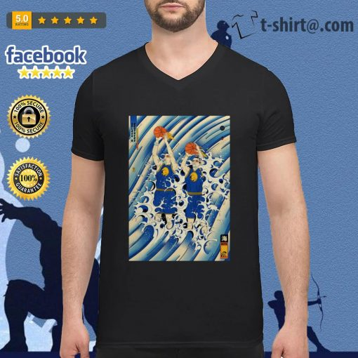 Steph Curry and Klay Thompson Splash Brothers V-neck t-shirt