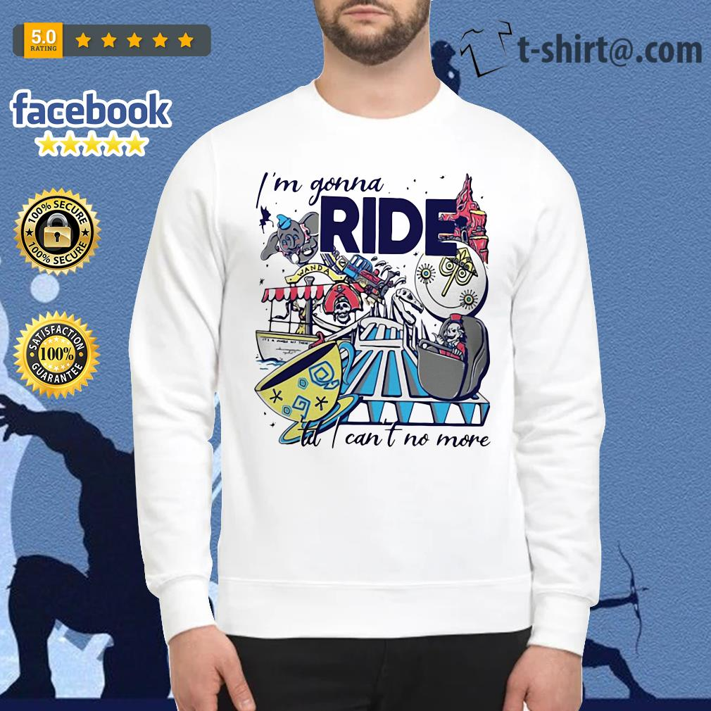 Theme Park Rider I'm gonna ride til I can't no more Sweater