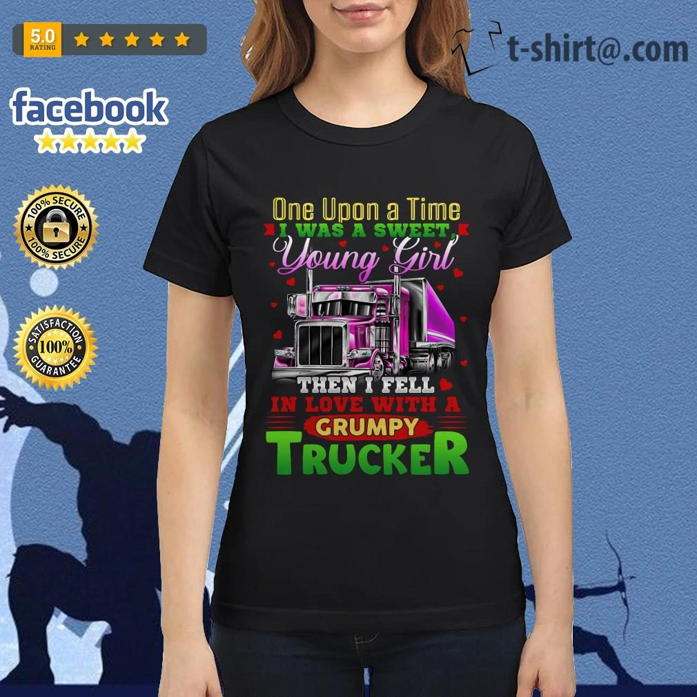 Truck one upon a time I was a sweet young girl then I fell in love Ladies Tee