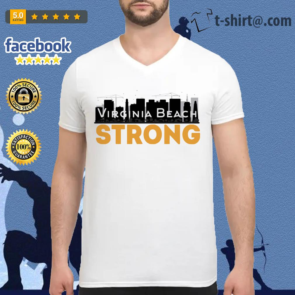 Virginia Beach Strong V-neck t-shirt