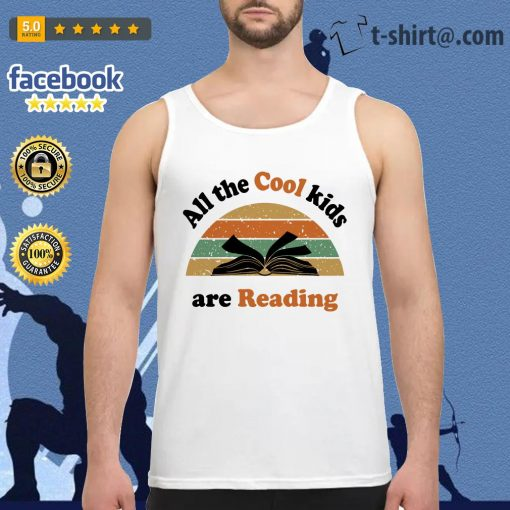 All the cool kids are reading vintage Tank top