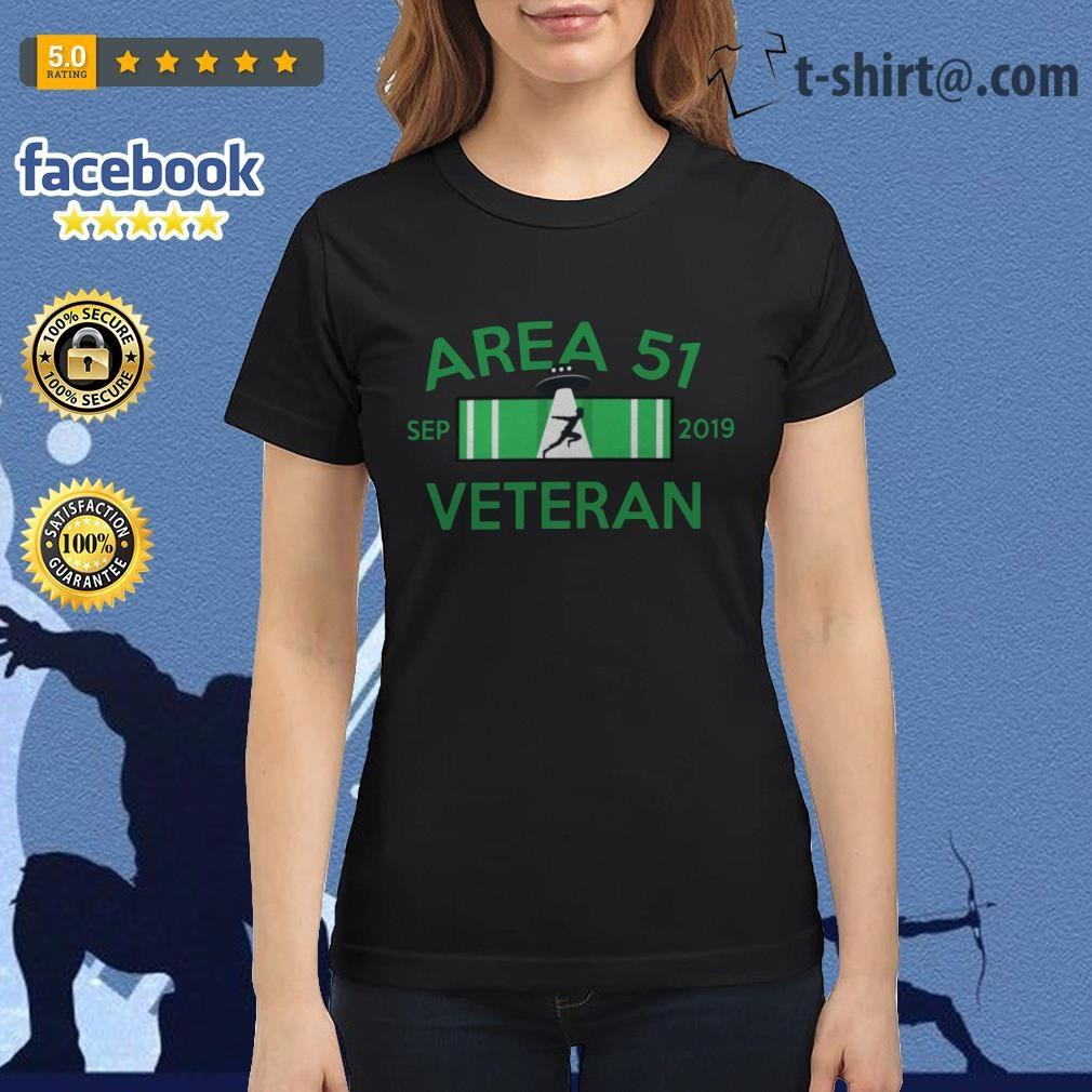 Area 51 Sep 2019 Veteran Ladies Tee