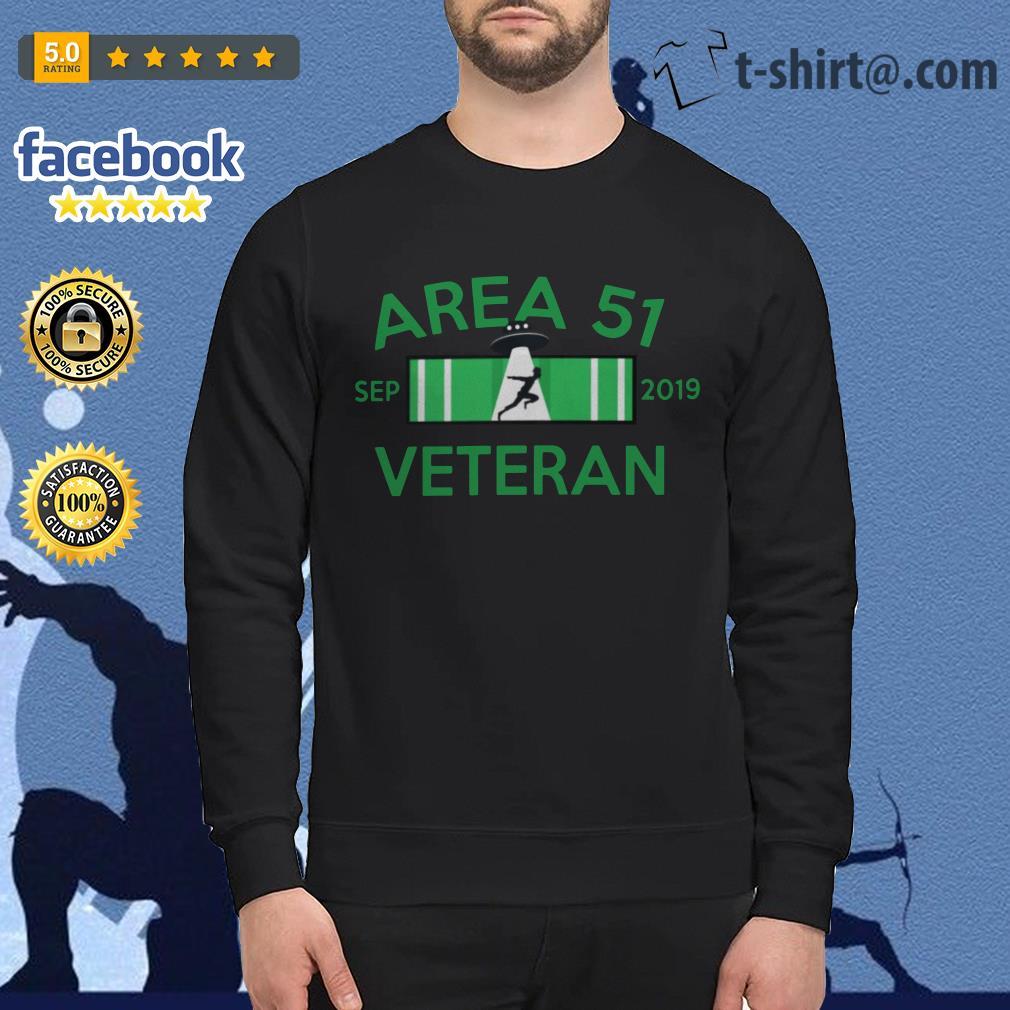 Area 51 Sep 2019 Veteran Sweater