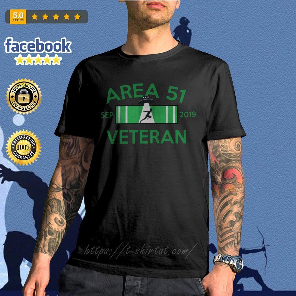 Area 51 Sep 2019 Veteran shirt