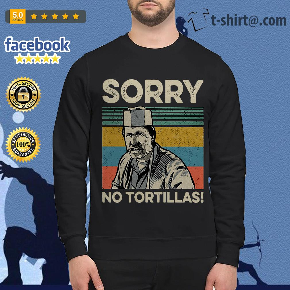 Blood In Blood sorry no Tortillas vintage Sweater