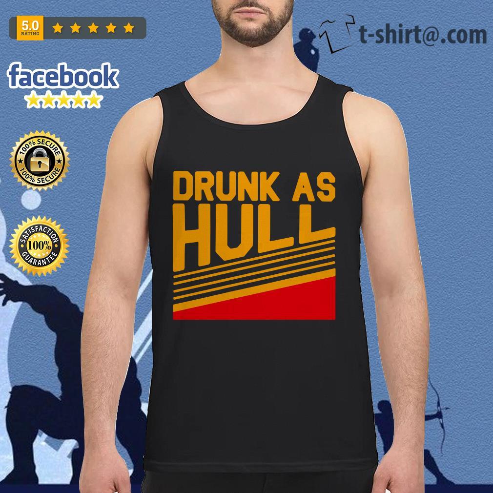 Brett Hull drunk as hull Tank top