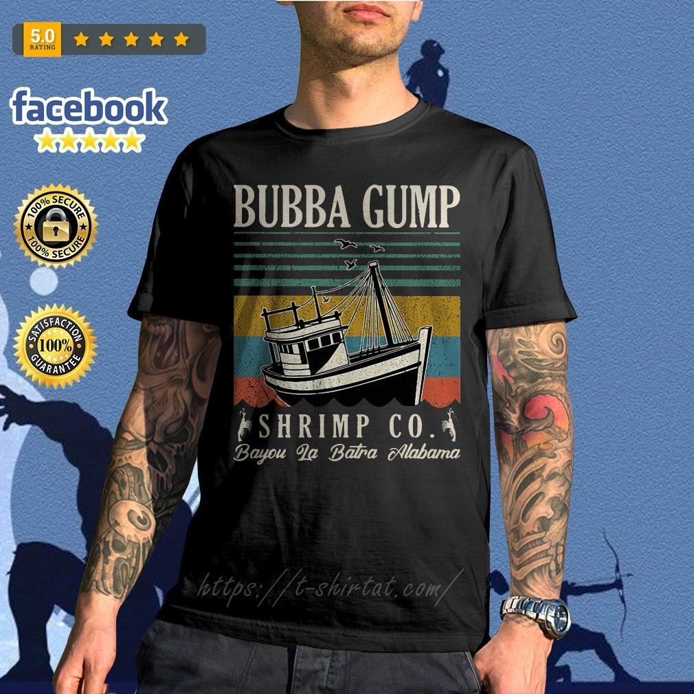 Bubba Gump Shrimp Co. Bayou La Batre Alabama vintage shirt