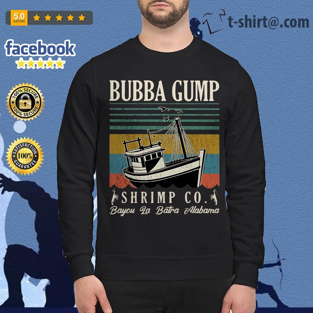 Bubba Gump Shrimp Co. Bayou La Batre Alabama vintage Sweater