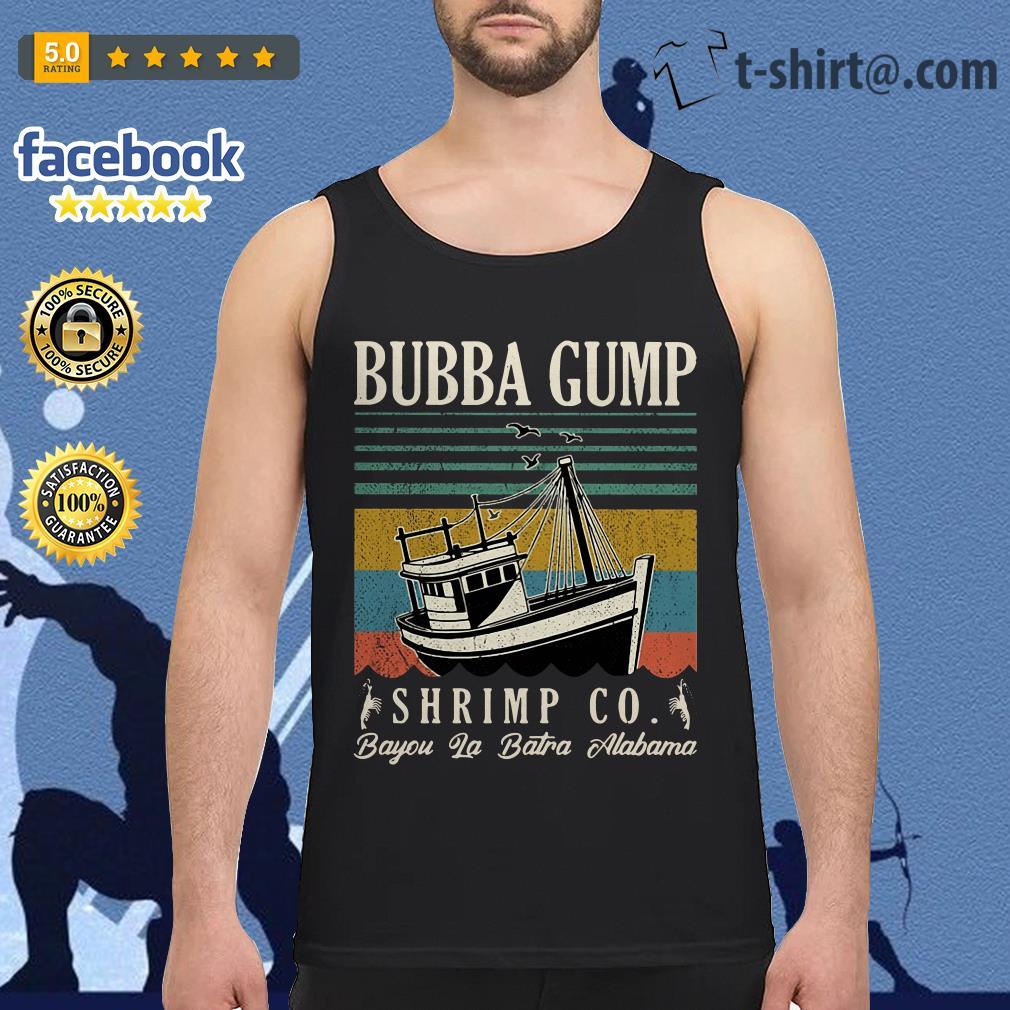 Bubba Gump Shrimp Co. Bayou La Batre Alabama vintage tank top