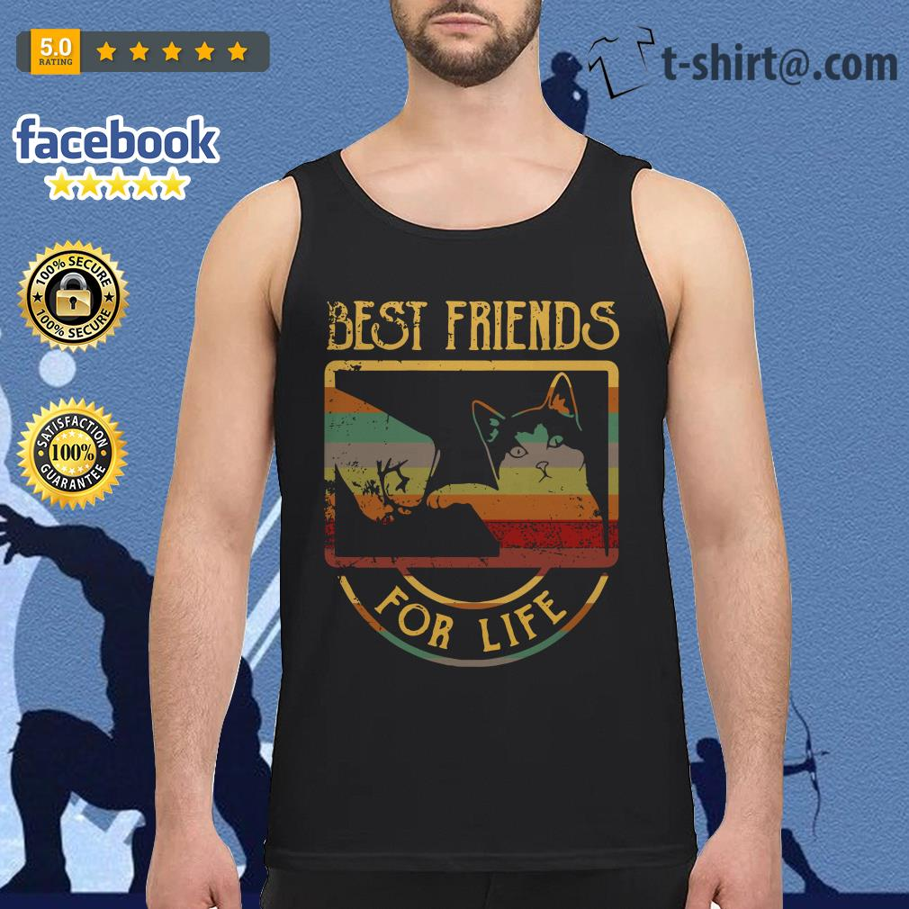 Cat best friends for life Tank top