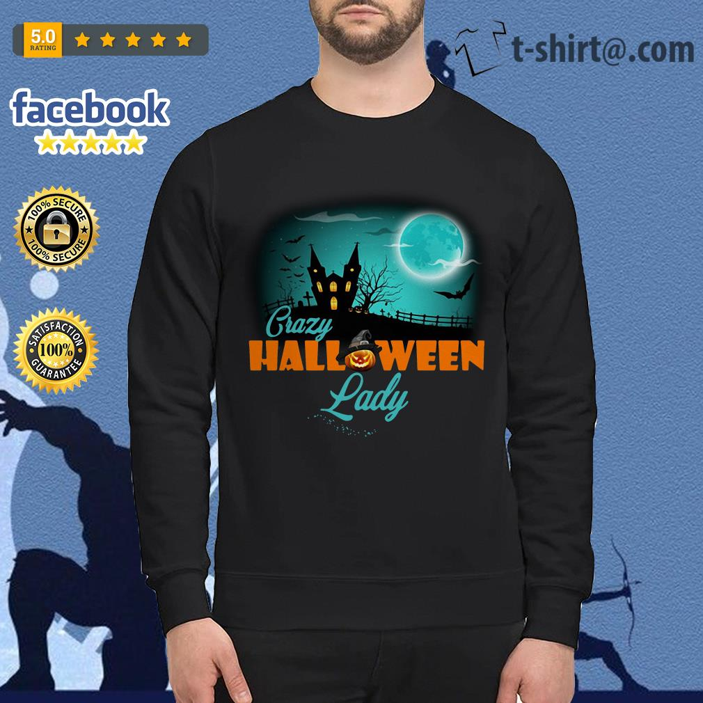 Crazy Halloween lady Sweater
