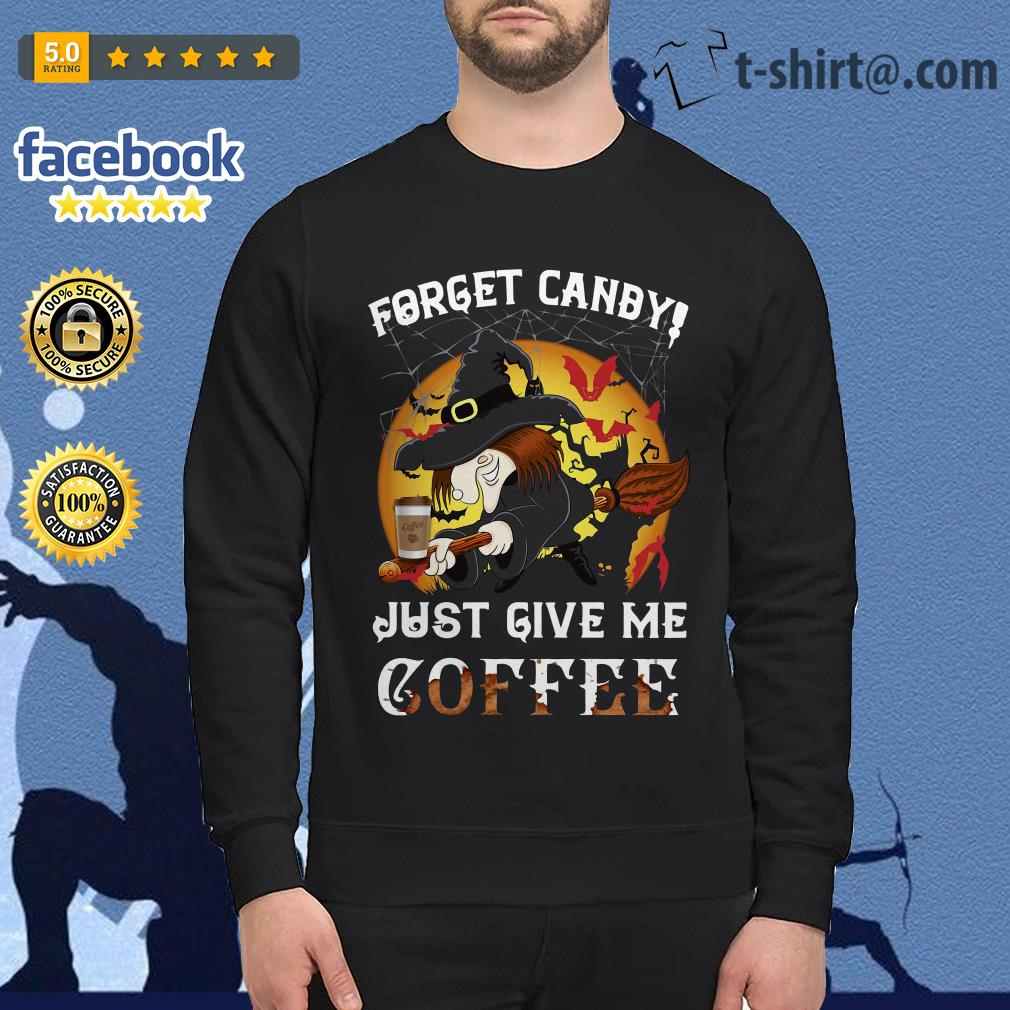 Forget Canby just give me coffee Halloween Sweater