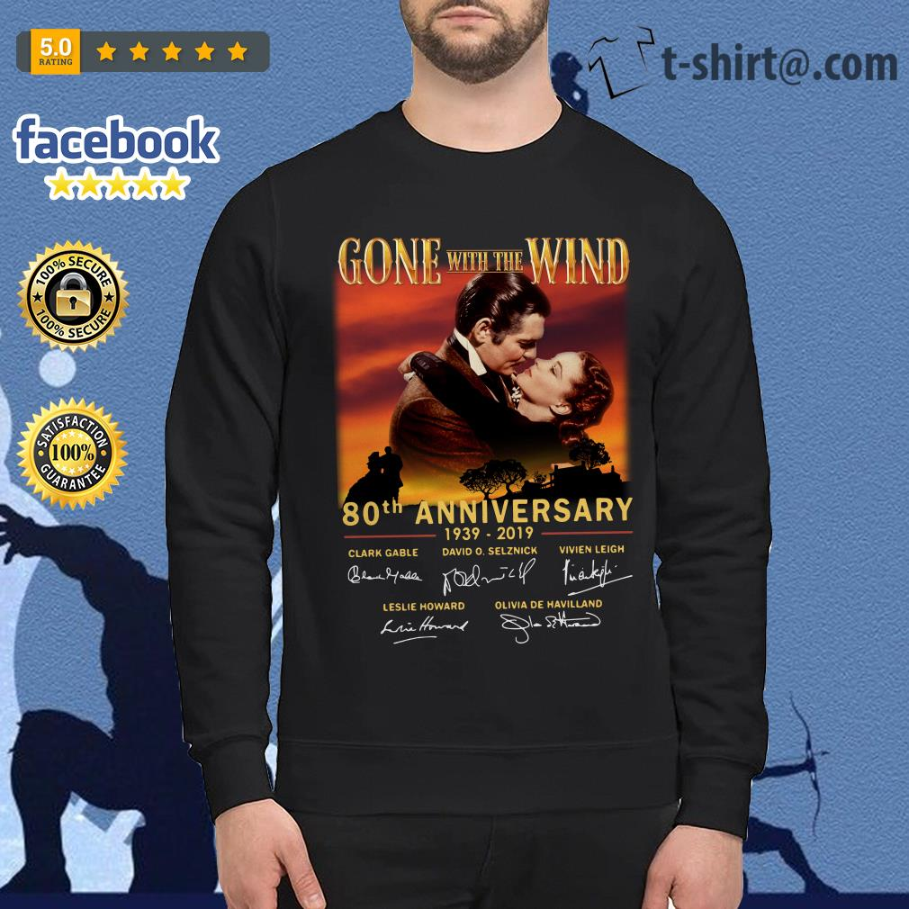 Gone With The Wind 80th Anniversary 1939-2019 signatures Sweater