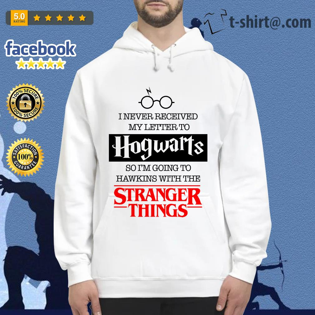I never received my letter to Hogwarts so I'm going to Hawkins with the Stranger things Hoodie