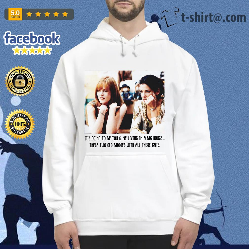 It's going to be you and me living in a big house these two old Biddies Hoodie
