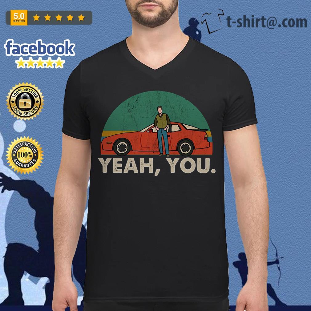 Jake Ryan yeah you vintage V-neck T-shirt