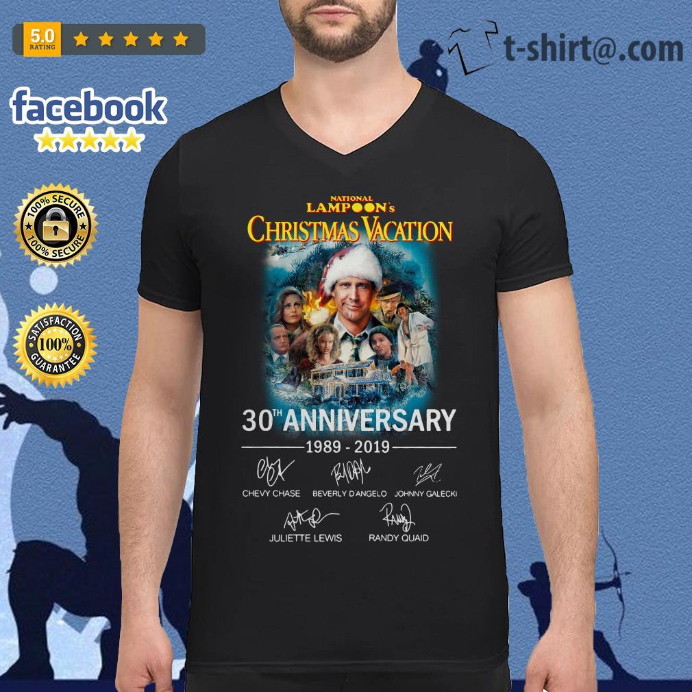 National Lampoon/'s Christmas Vacation 30th Anniversary T-Shirt Unisex Gidlan Tee