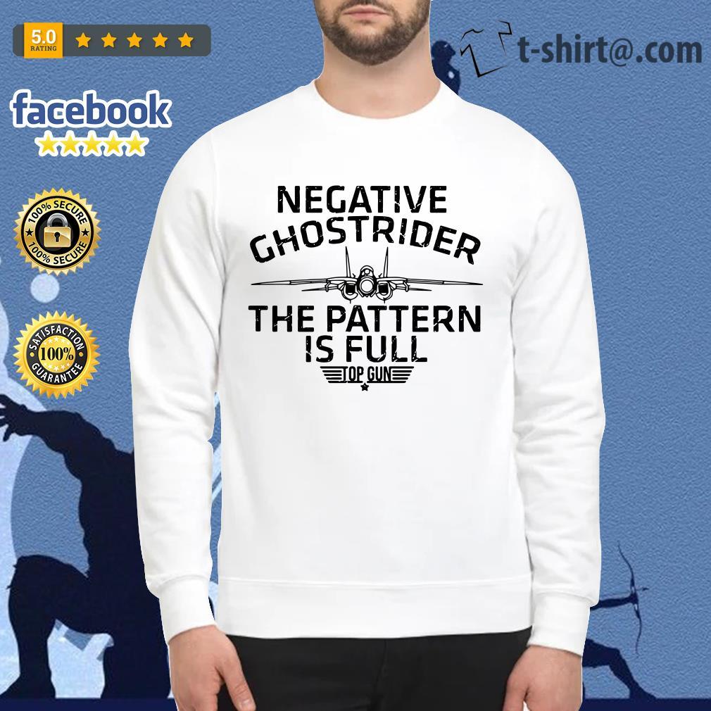 Negative Ghostrider the pattern is full top gun Sweater