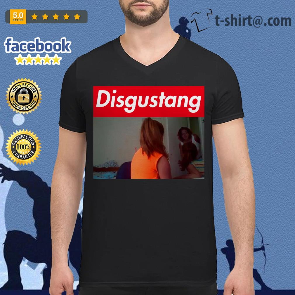 Official Disgustang V-neck T-shirt