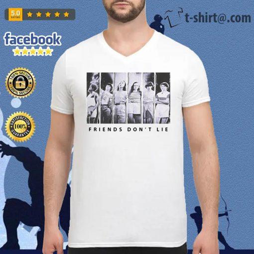 Official Stranger Things season 3 Friends don't lie V-neck T-shirt