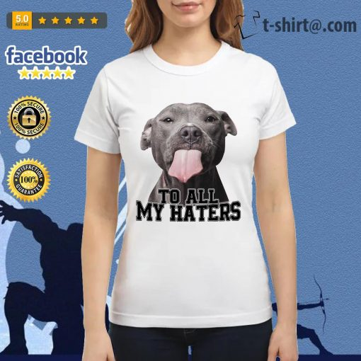 Pitbull to all my haters Ladies Tee
