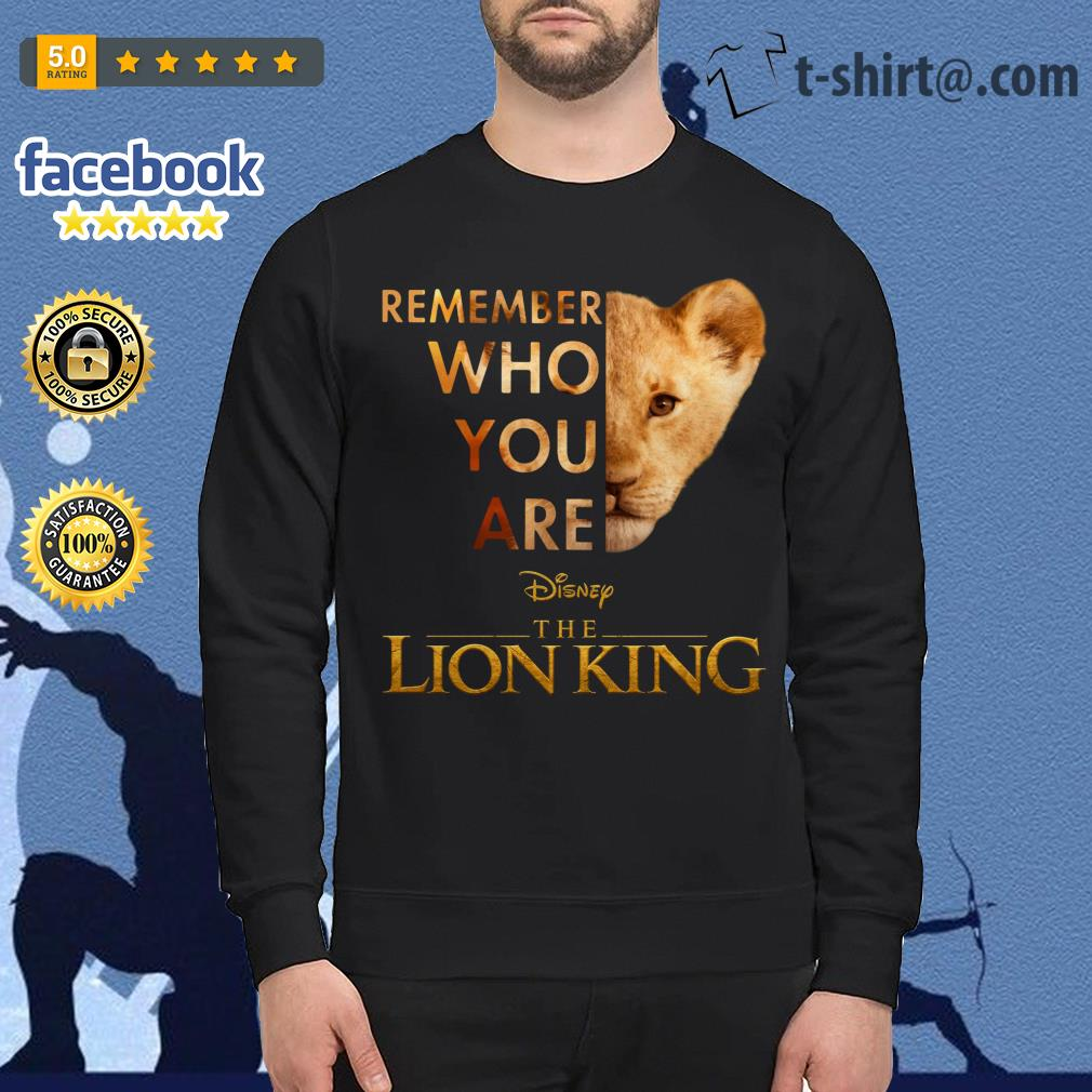 Remember who you are Disney The Lion King Sweater