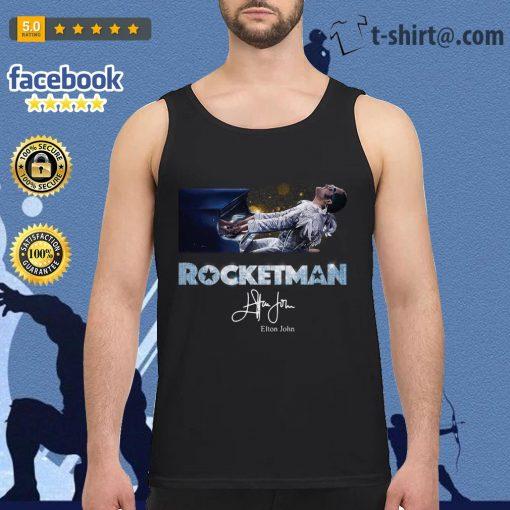 Rocketman Elton John signature Tank top