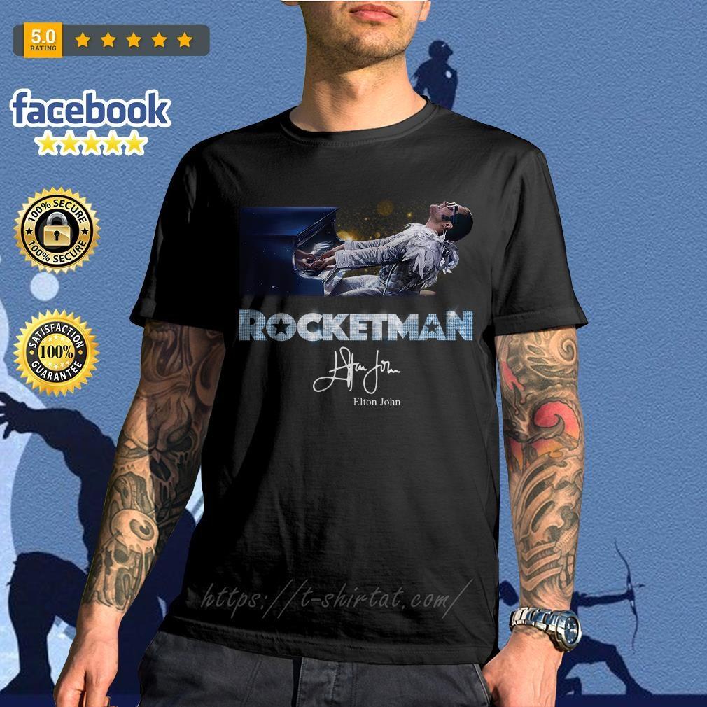 Rocketman Elton John signature shirt