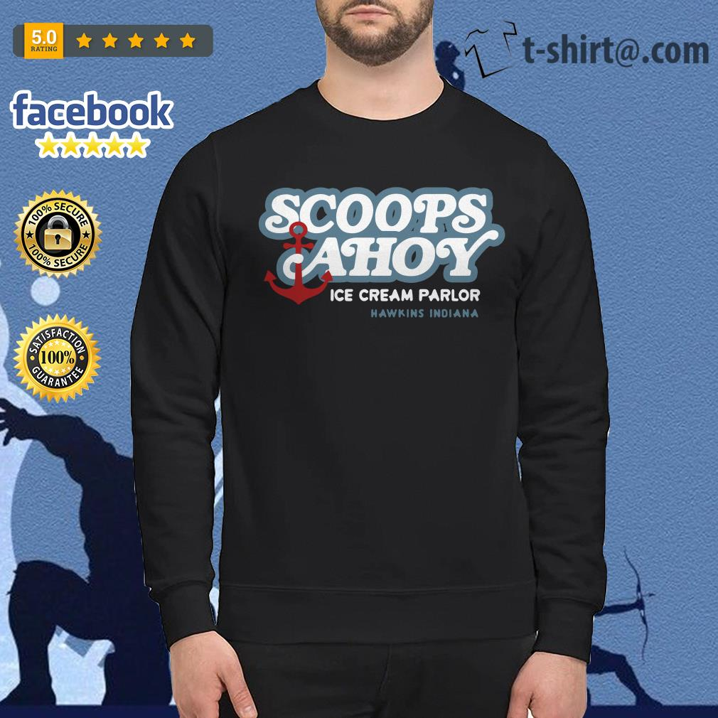 Scoops Ahoy ice cream Parlor Hawkins Indiana Sweater